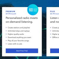 Pandora Adds New Premium Service