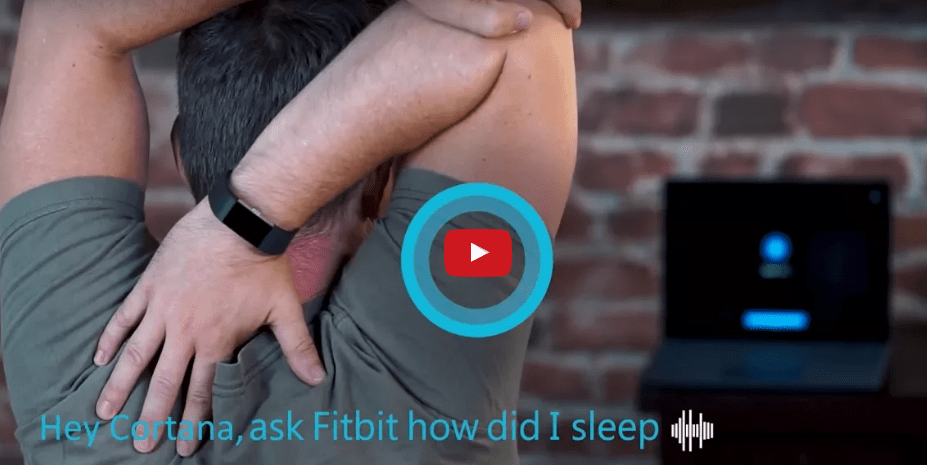 Microsoft Announces Fitbit Skills for Cortana