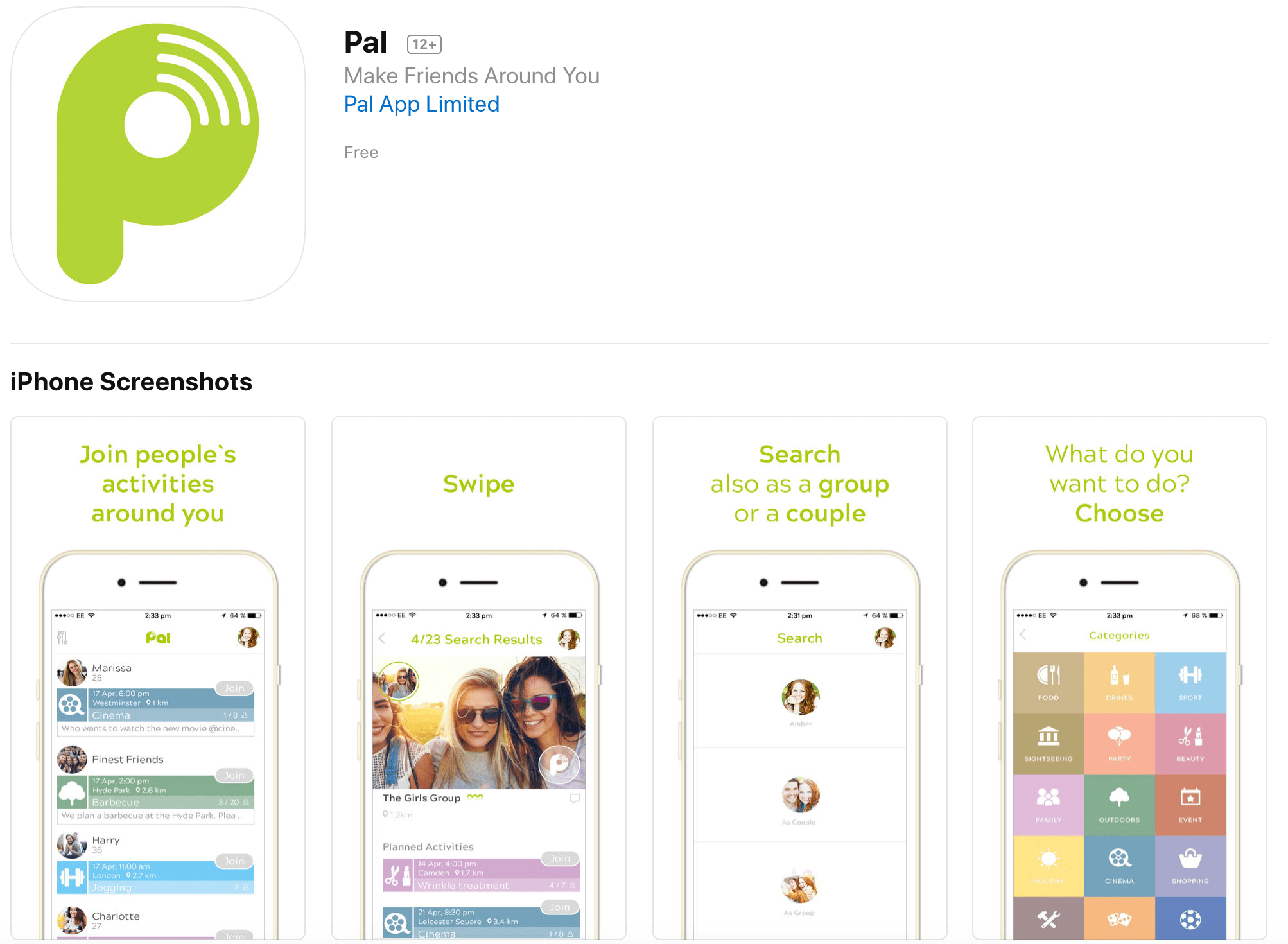 Pal – The new app to finally make friends