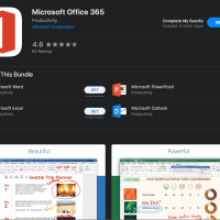 Office 365 Now On The Mac App Store