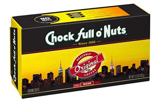 Item of the Day – Chock Full o'Nuts Coffee, Original Blend Brick