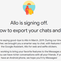 Google Allo Last Day