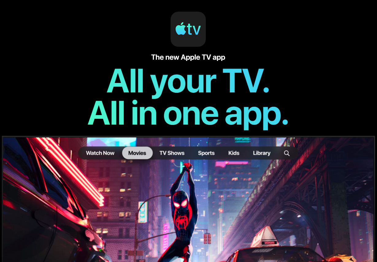Apple TV+ Roll Out Starts With The New Apple TV App