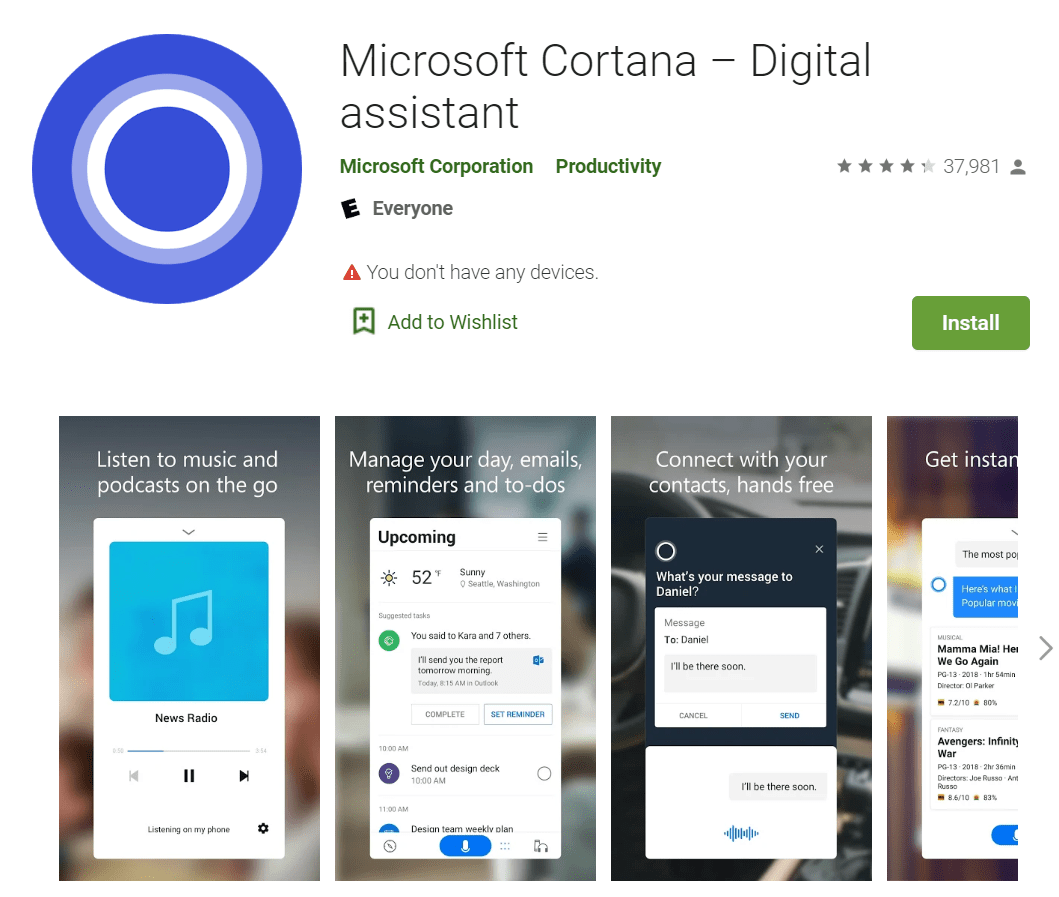 Microsoft Is Ending Support for the Cortana App On iOS and Android