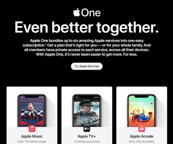 Apple Rolls Out Apple One
