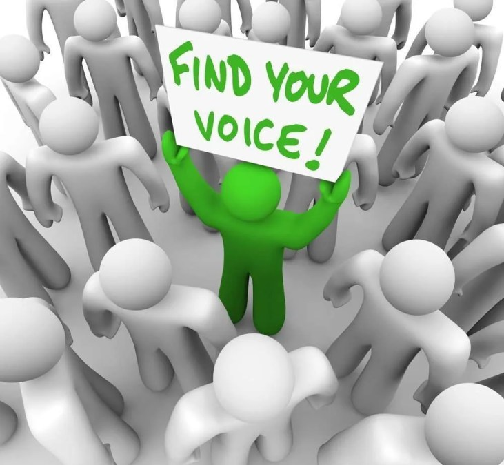 How to Find Your Voice (Even in a Crowded Space)
