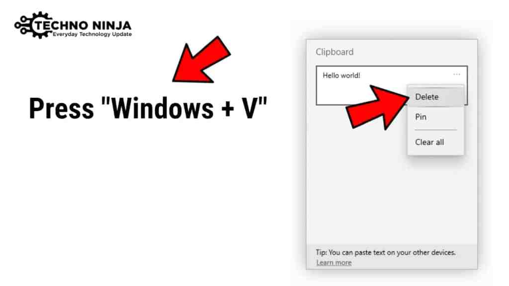 How to Clear Clipboard in Windows 10