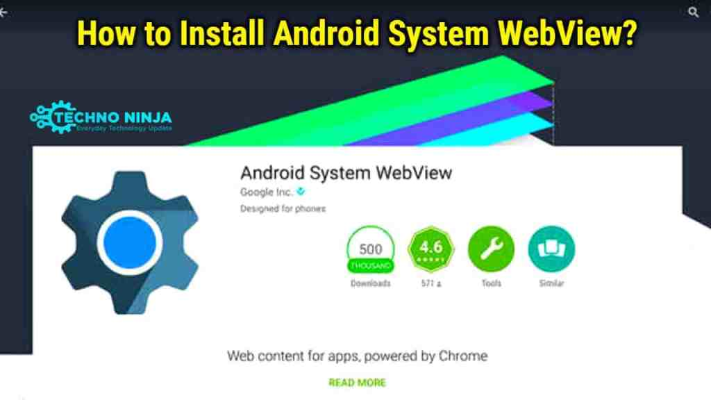 How to Install Android System Webview?