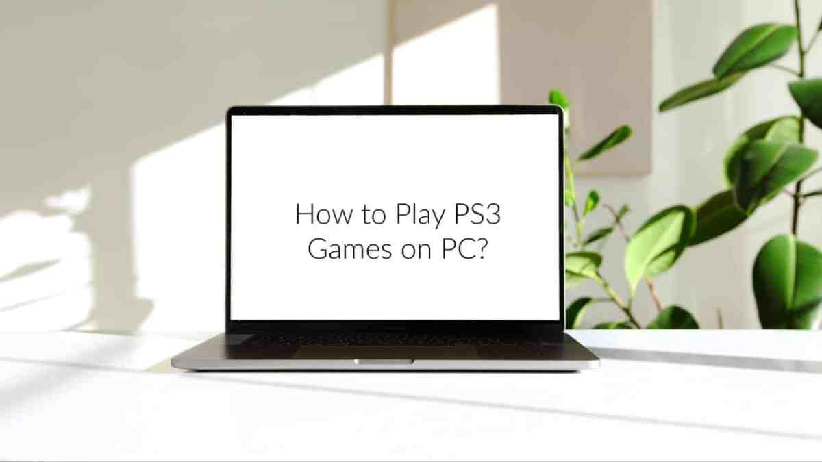 How to Play PS3 Games on PC?