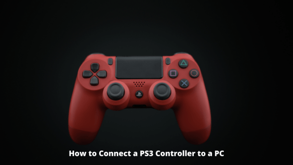 How to Connect a PS3 Controller to a PC