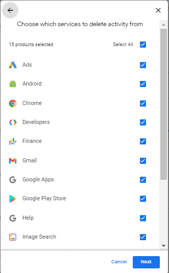 How to Delete Google Activity on a Computer step 8