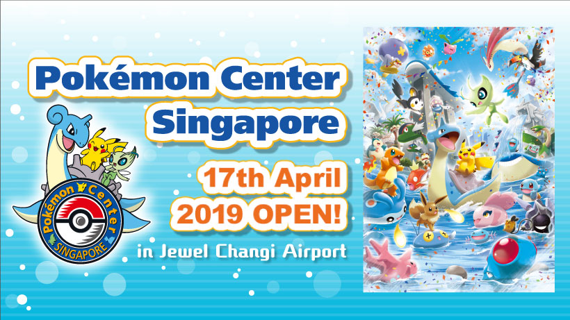 Pokemon Center Singapore Grand Opening Announcement