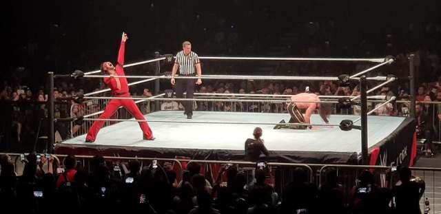 WWE Live Singapore: With Seth Rollins down, Shinsuke Nakamura gears up for the Kinshasa.