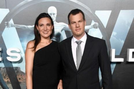 Husband and wife creator of HBO Westworld, Jonathan Nolan and Lisa Joy. Photo by Getty (via TheWrap.com)