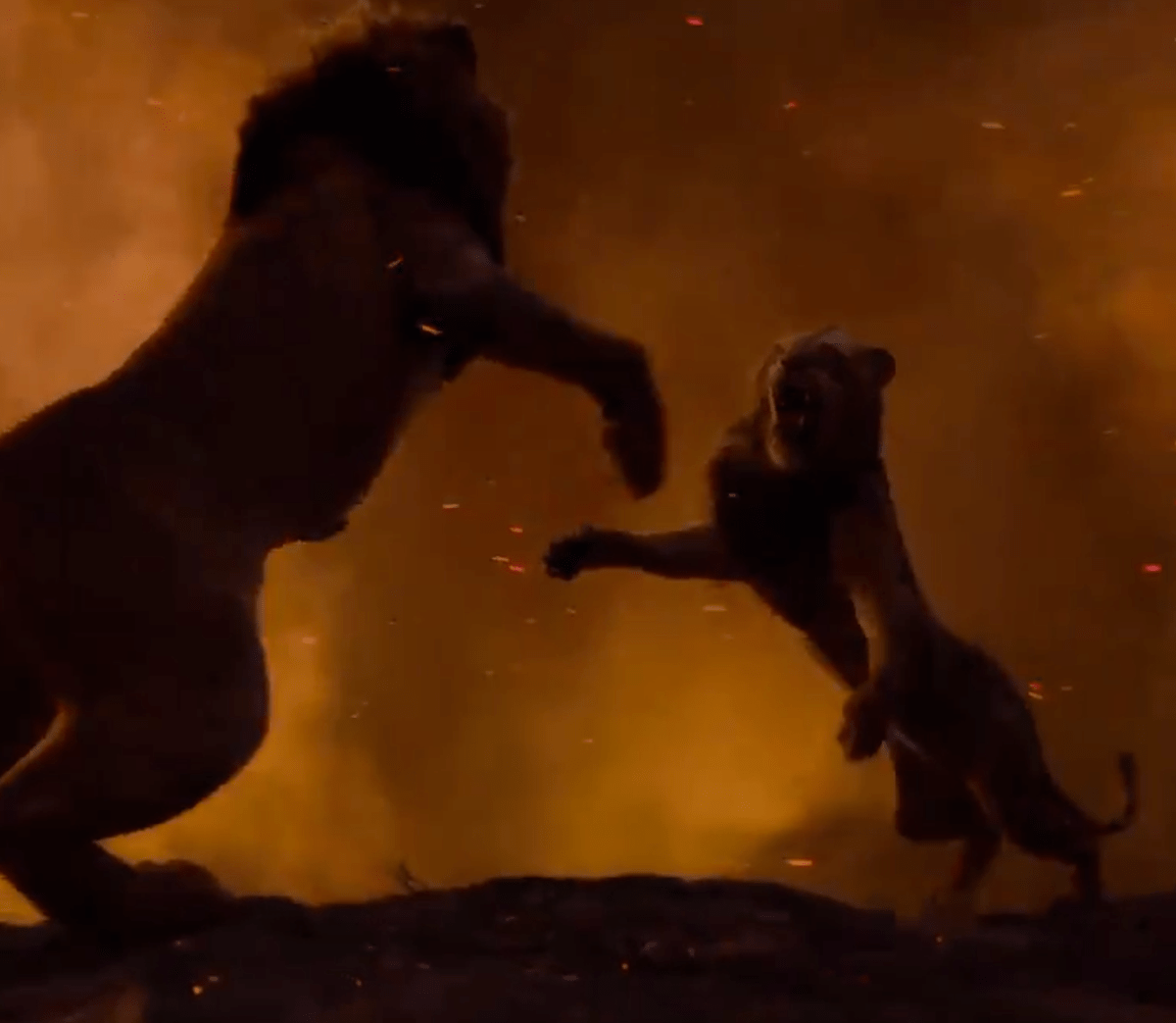 New Lion King movie trailer teases epic showdown between Simba and Scar