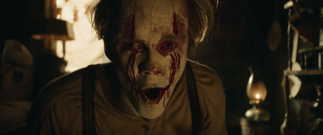 Bill Skarsgård as IT/Pennywise the Dancing Clown in IT Chapter Two