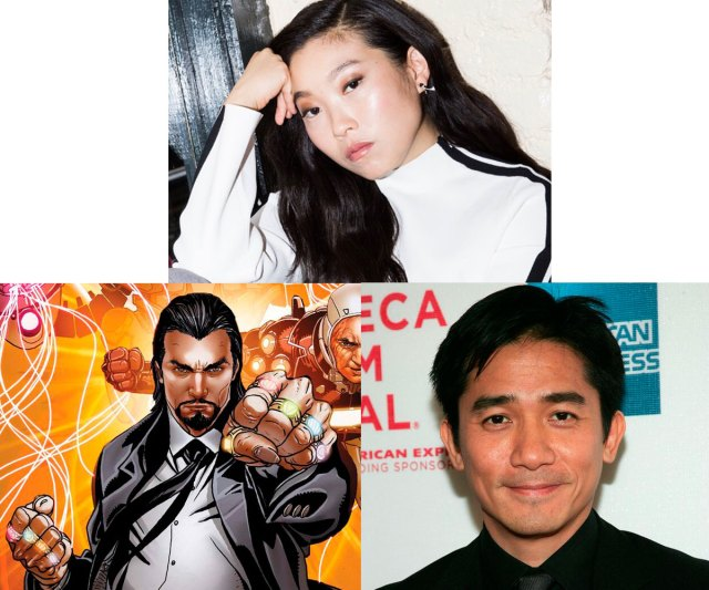 Awkwafina and Tony Leung join the cast of Marvel's Shang-Chi, with Leung playing The Mandarin. via Awkwafina's Instagram (@awkwafina), marvel.fandom.com and marvelcinematicuniverse.fandom.com