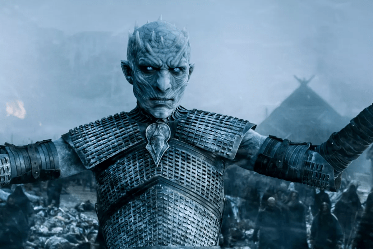 Night King in Game of Thrones