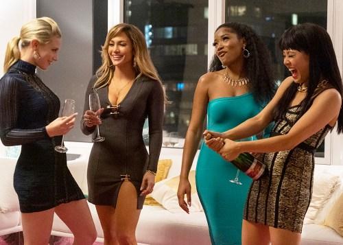 Lili Reinhart, Jennifer Lopez, Keke Palmer, and Constance Wu star in HUSTLERS via STXFilms.com