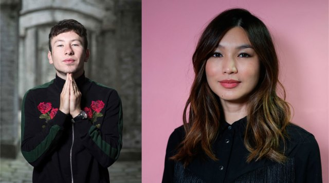 Barry Keoghan and Gemma Chan are reportedly in talks for roles in upcoming Marvel film, The Eternals. Credit to Christian Sinibaldi/The Guardian (L) and BBC Woman's Hour Twitter (R)