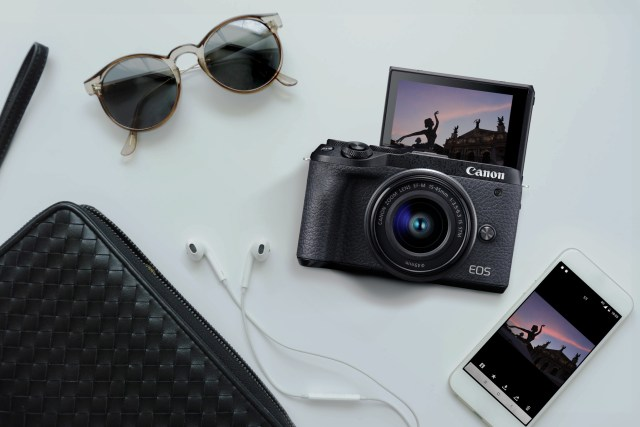 The Canon EOS M6 Mark II Courtesy of Canon