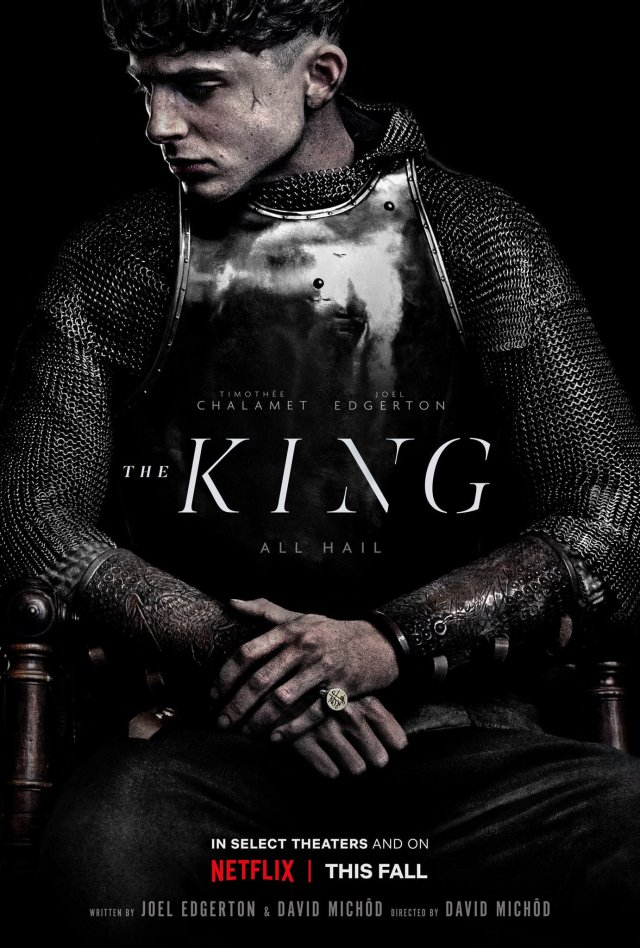 Official poster of The King via Timothée Chalamet's Twitter (@RealChalamet)