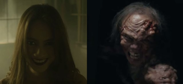 The two monsters in the film are female. Of course.