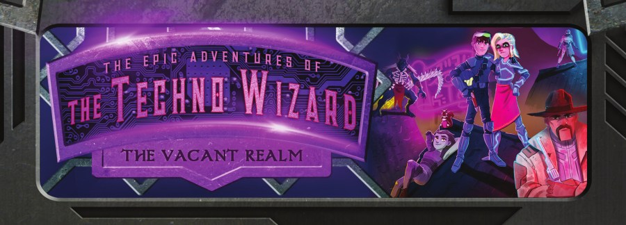 Vacant Realm Techno Wizard Bookmark Front