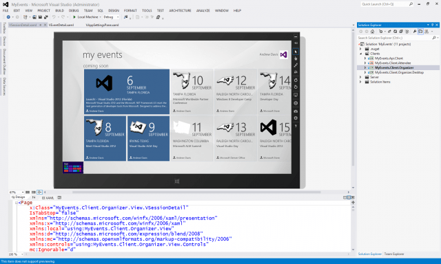 Visual Studio 2012: Free Desktop Development Tool Out Today, First Update Outlined