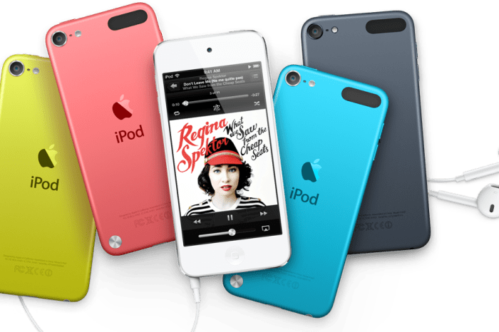The All New iPod Touch – For Maximum Fun