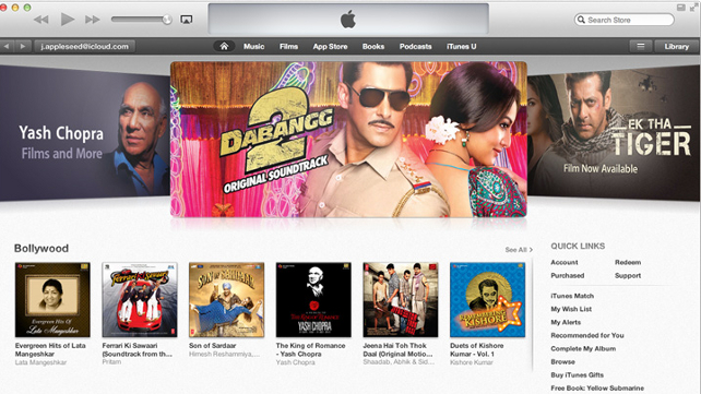 iTunes Store Hits Indian Shores