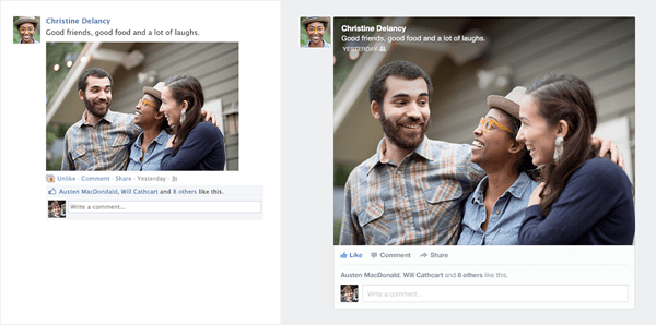 Facebook Gets New Look for News Feed