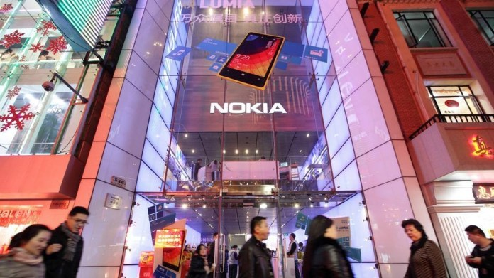 Nokia Closes Store in Shanghai