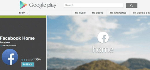 Facebook Home on Google Play