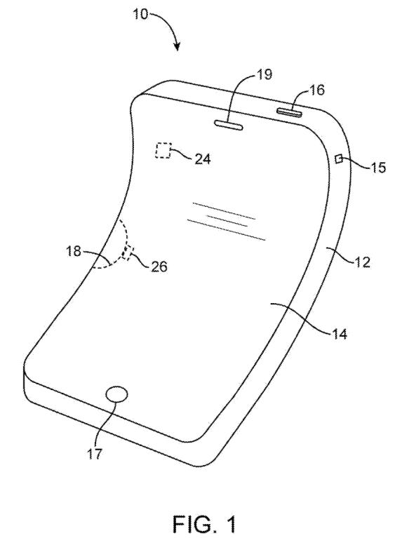 Apple iPhone Flexible Display