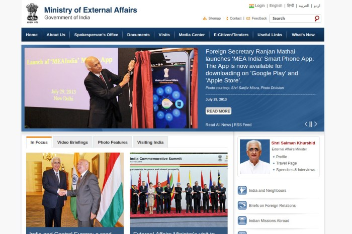 Ministry of External Affairs Launches Mobile App Allowing users to Apply for Passport
