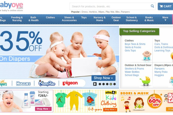 BabyOye Claims to have Reached the Gross Merchandise Value of Rs 5.85 Crores