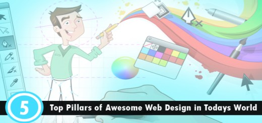 5 pillars of website design