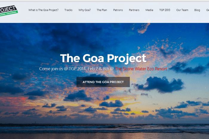 The 'Unconference' you shouldn't miss: The Goa Project 2014