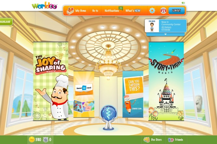 Worldoo.com - A virtual ecosystem where the child can live, express and play!
