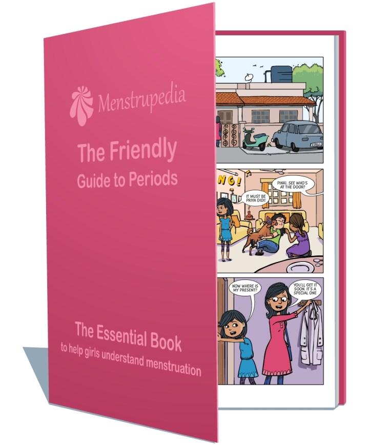 Menstrupedia comic book