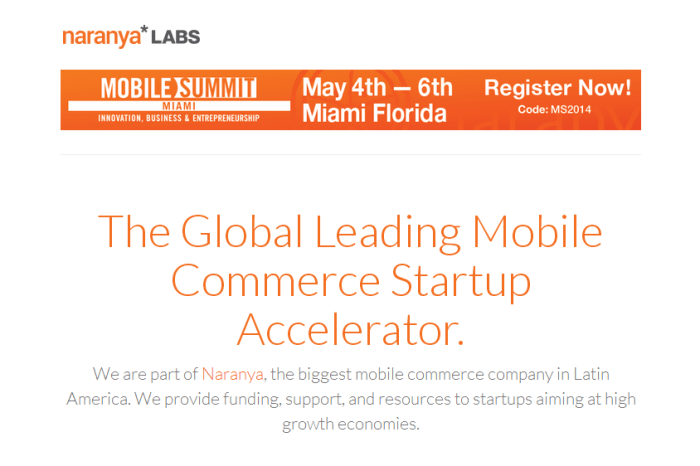 Global Mobile Accelerator Naranya*LABS announces startups to participate in Acceleration Program Edition 2