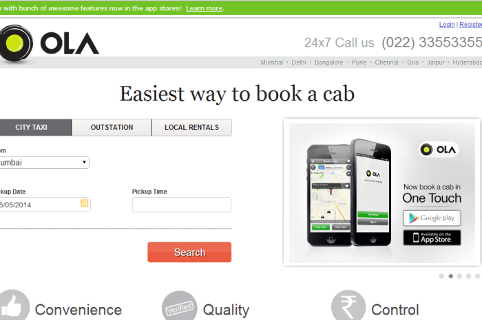 Olacabs to offer cabs at FLAT 50% fares in Delhi during the two-day auto strike