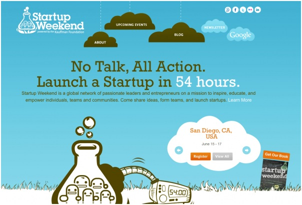 The Best Startup Website Designs