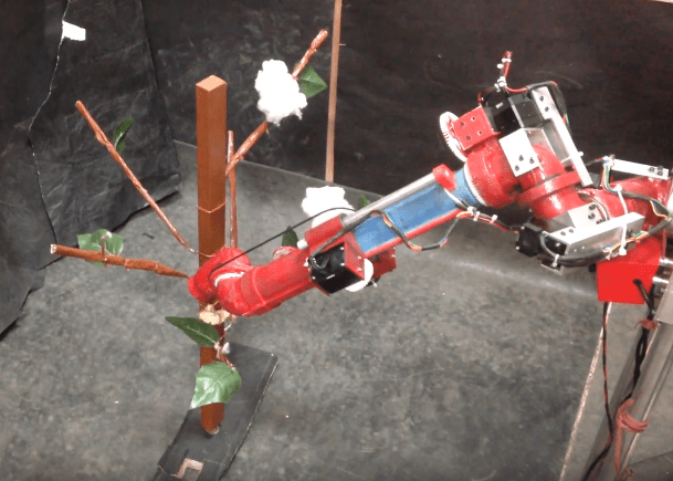India entrepreneur turns farmer with cotton-picking robot invention
