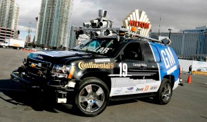 GM The Boss Autonomous Vehicle