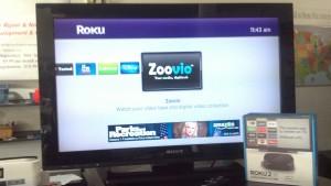 Zoovio Channel on the Roku