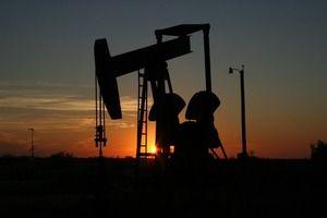 oil monahans, texas, sunset