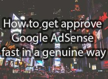 get approve google adsense