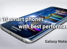Top 10 smart phones with best performance